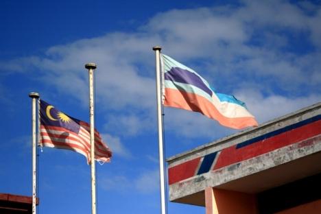Bendera Malaysia dan Sabah